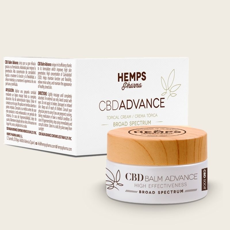CBD Balm advance packaging
